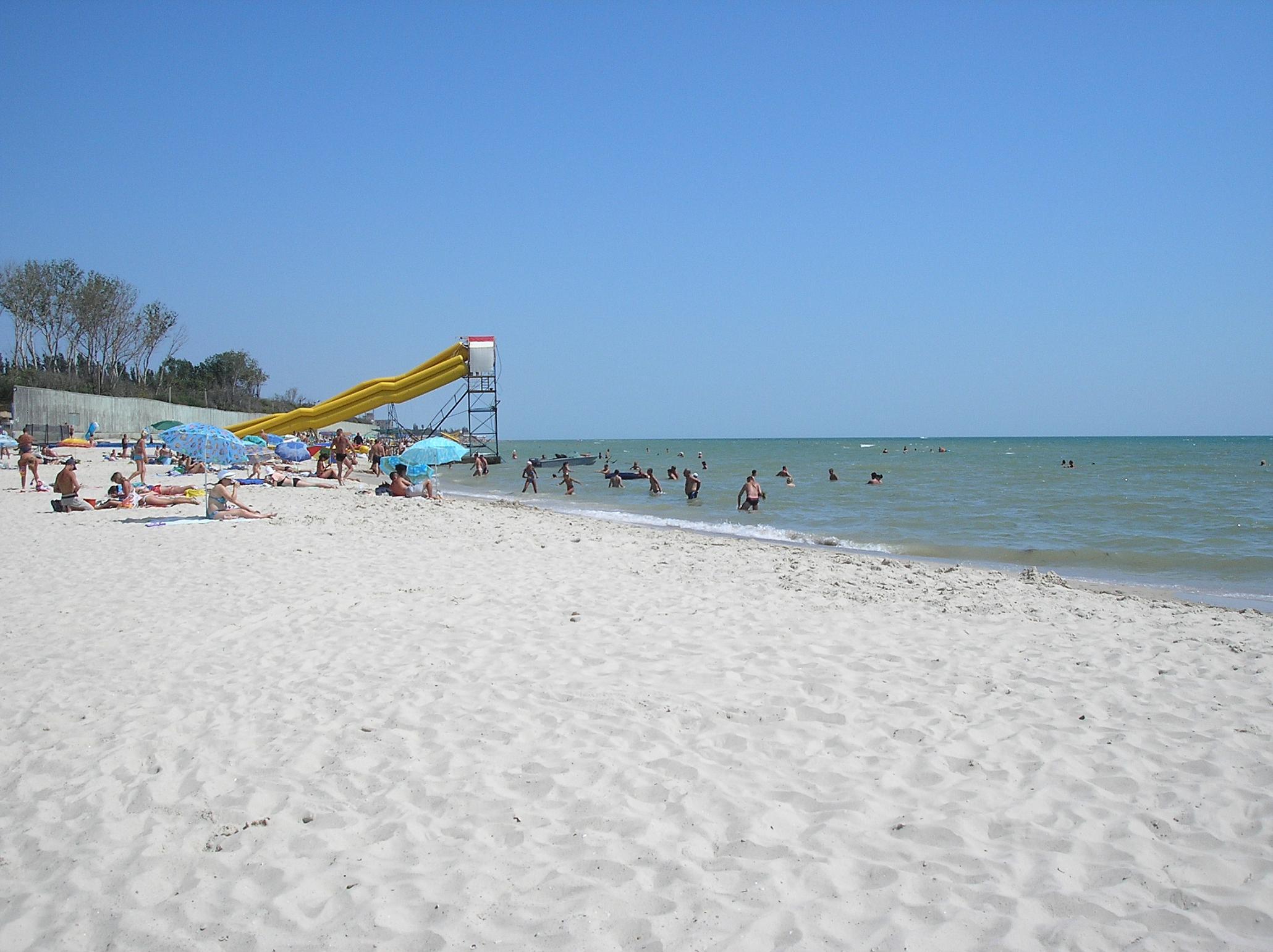 Пляж в лазурному 16